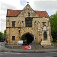 Worksop Priory gatehouse, Cheapside, Worksop - Bassetlaw