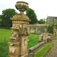 Terrace gardens, Castle Ashby Park, Castle Ashby - South Northamptonshire