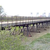 Torksey Viaduct over River Trent, Trent Side, Torksey / Rampton