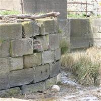 Grimsby Haven Lock and Dock Wall 58 metres Long adjoining to West, Lock Hill - North East Lincolnshire (UA)