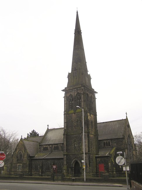 Brookfield Unitarian Church, Hyde Road, Gorton - Manchester