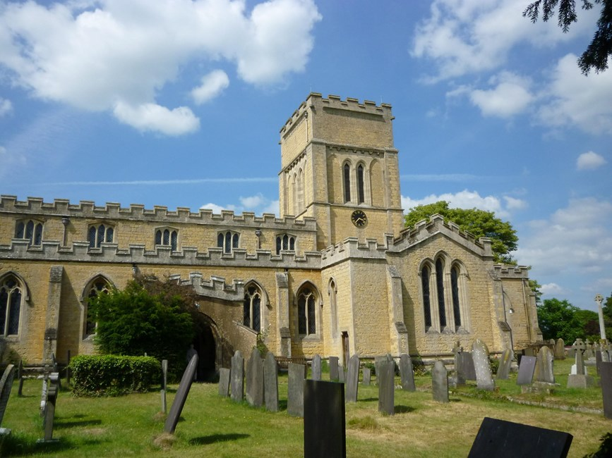 Parish Church of St Andrew, Church Lane, Langar, Langar cum Barnstone - Rushcliffe