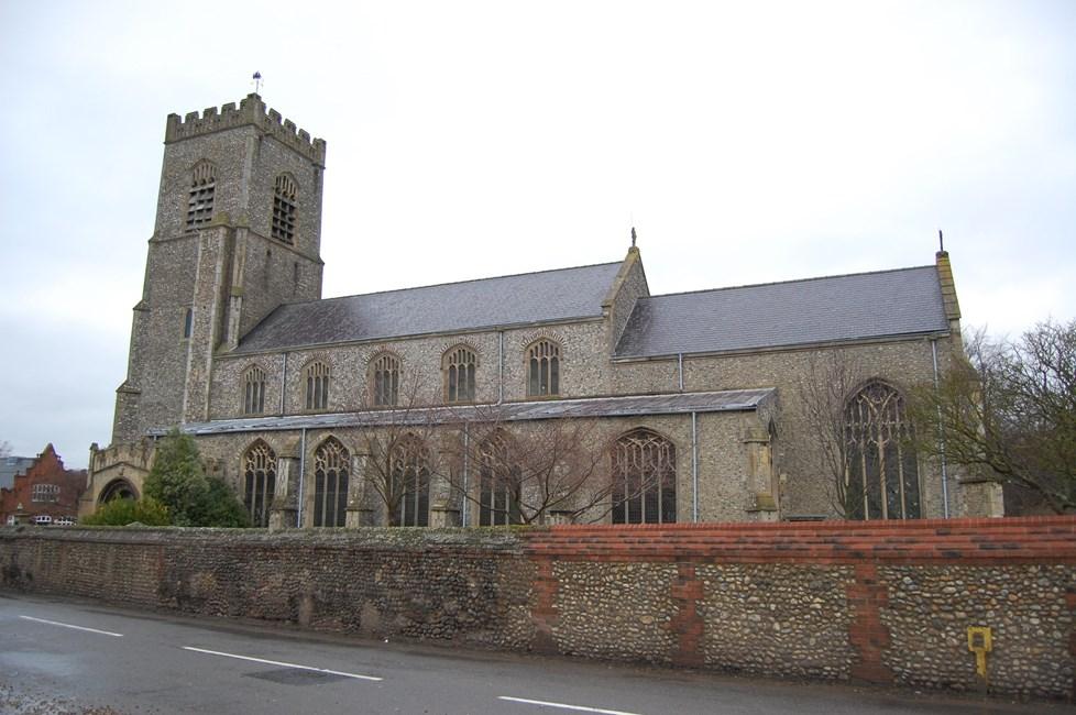 Church of St Nicholas, Church Plain, Wells-Next-the-Sea - North Norfolk
