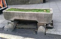 Cattle trough to south east of the Roundhouse, Chalk Farm Road NW1 - Camden