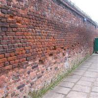 Walls around St Martin's churchyard, north side, Church Road, Hillingdon - Hillingdon