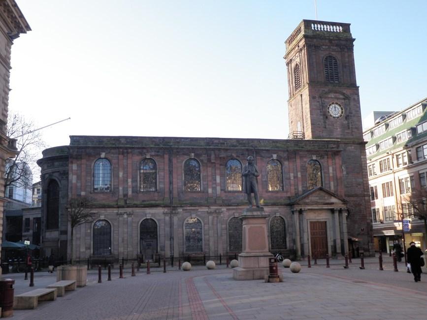 Church of St Ann, St Ann Street, Manchester City Centre - Manchester