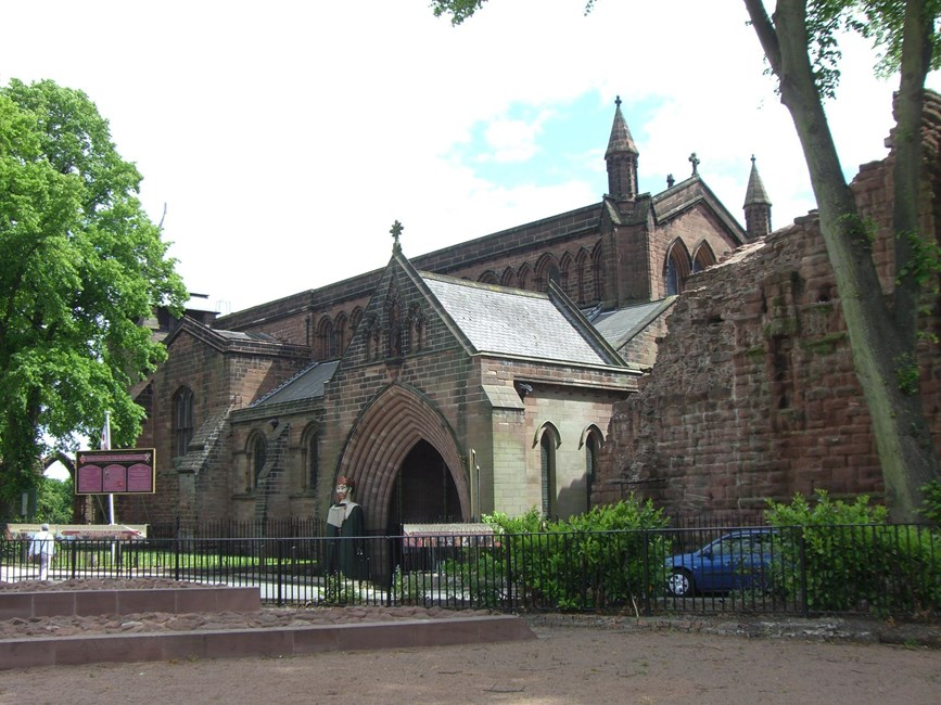 Church of St John the Baptist, Vicars Lane, Chester - Cheshire West and Chester (UA)