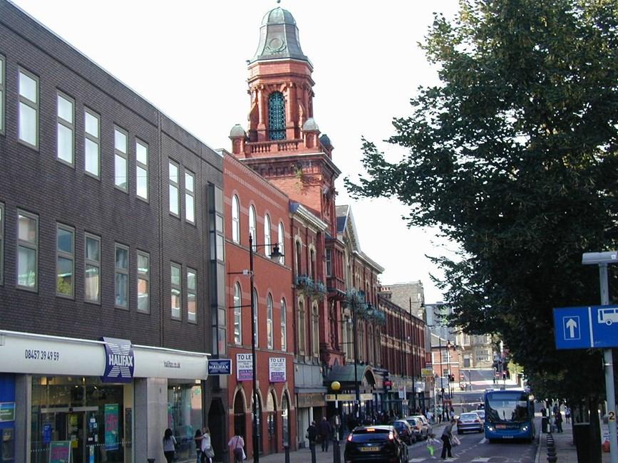 Bolton Methodist Mission, Knowsley Street, Bolton - Bolton