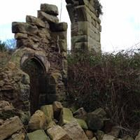 Ruins of Halsall Rectory 230 metres north north east of St Cuthberts Church, Halsall Road, Halsall - West Lancashire