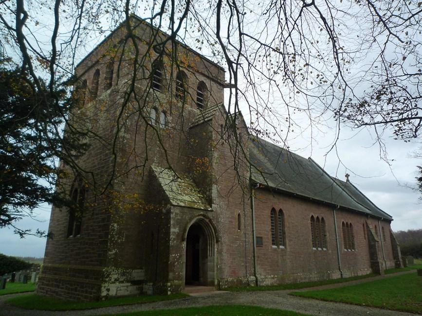 Church of All Hallows, B5299, Fletchertown, Allhallows - Allerdale