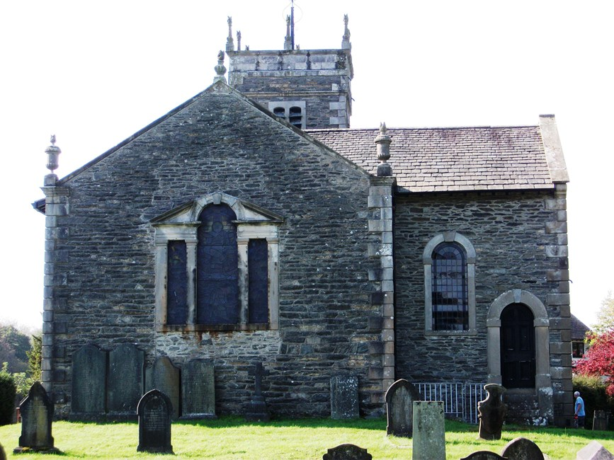 Church of St Anne, Meadowcroft, Ings, Hugill, South Lakeland - Lake District (NP)