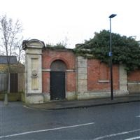 Forecourt railings and gates to Red Barracks, and Gate Lodge, Frances Street, Woolwich SE18 - Greenwich