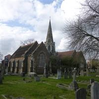 Pair of chapels at Isleworth Cemetery, Park Road - Hounslow