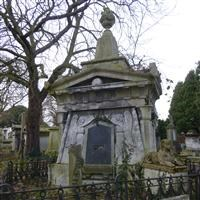 Mausoleum of Andrew Ducrow, Harrow Road, Kensal Green Cemetery W10 - Kensington and Chelsea