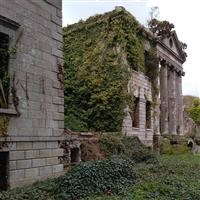 Remains of Carclew House, Mylor - Cornwall (UA)