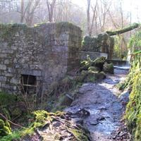 Gunpowder works at Kennall Vale, Stithians / St. Gluvias - Cornwall (UA)