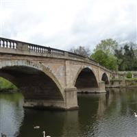 Severn Bridge including Flanking Arches and Balustrade, Bewdley - Wyre Forest