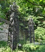 Iron Gates in Garden at Rear of Skeffington House, the Newarke - Leicester, City of (UA)