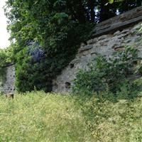 Newarke Wall (Along north west end of Gardens of Newarke Houses Museum), the Newarke - Leicester, City of (UA)