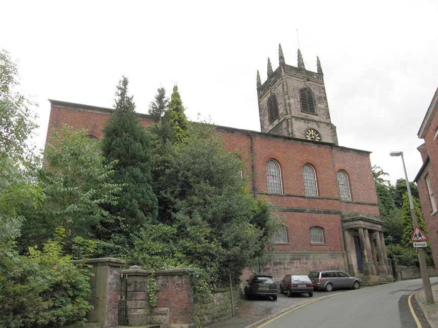 Church of St Peter, Chapel Street, Congleton - Cheshire East (UA)