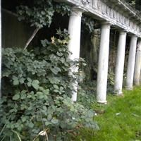 Loggia in the grounds of Thames Eyot, Cross Deep, Twickenham - Richmond upon Thames