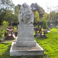 Monument to Charles Waters, Camberwell Old Cemetery, Forest Hill Road, Forest Hill SE23 - Southwark