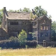 Extwistle Hall and attached garden wall, Briercliffe - Burnley