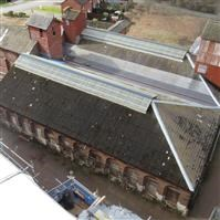 Ditherington Flax Mill: Stove House and Dye House, Shrewsbury - Shropshire (UA)