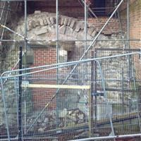 County Court including remains of Leicester Castle - John O'Gaunts cellar, Castle Yard - Leicester, City of (UA)