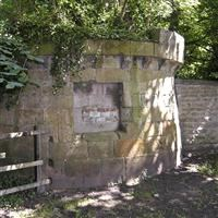 Bastion, north west of Kirkleatham Hall Stables, Kirkleatham, Redcar - Redcar and Cleveland (UA)