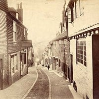 Keere Street, Lewes, East Sussex