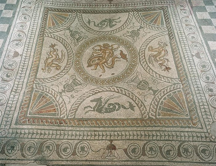 Roman Mosaic, Fishbourne, West Sussex