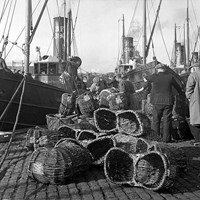 Fish Baskets, Great Yarmouth, Norfolk