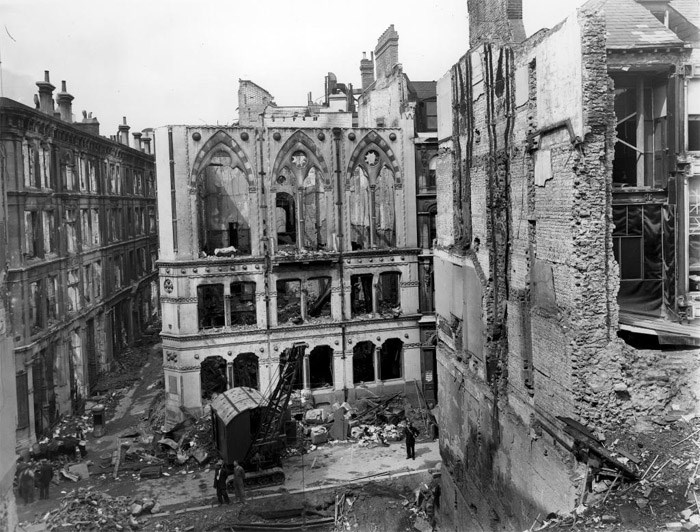 Blitz Bomb Damage, London, Greater London
