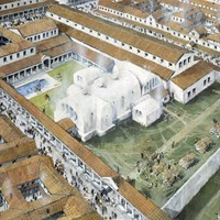 Bath Complex, Wroxeter Roman City, Wroxeter, Shropshire