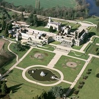 Aerial View, Witley Court, Great Witley, Worcestershire