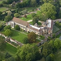 Aerial View, Eltham Palace, Greenwich, Greater London