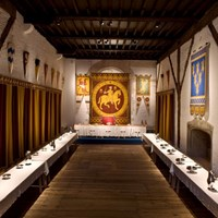 Guest Hall, Dover Castle, Dover, Kent