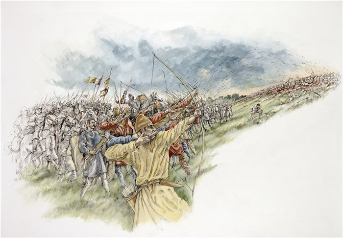 Battle of Hastings, Battle, East Sussex
