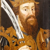 William the Conqueror, Battle Abbey, Battle, East Sussex