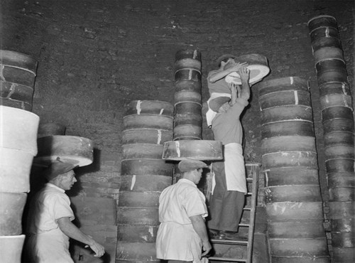 Inside a pottery Kiln, Stoke on Trent