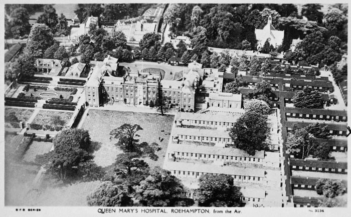 Queen Mary's Hospital, Roehampton, Wandsworth, Greater London