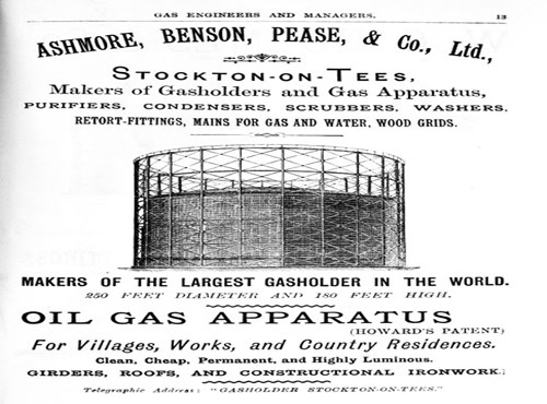 Advert, Newbiggin's Handbook for Gas Engineers and Managers