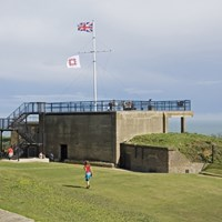 Admiralty Look-out, Dover Castle, Dover, Kent