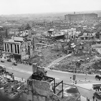 Bomb Damage, Coventry, West Midlands