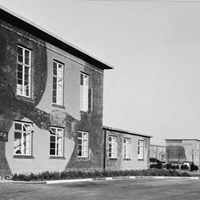 Camouflaged Buildings, RAF Base
