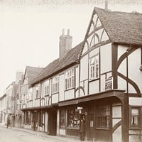 Ostrich Inn, High Street, Colnbrook, Slough