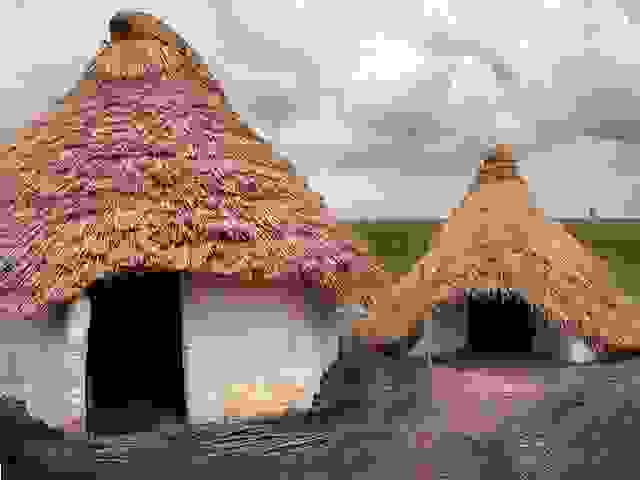 Image result for stone age houses
