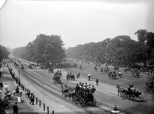 Rotten Row, Hyde Park, Westminster, London