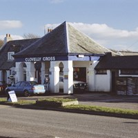 Clovelly Cross Filling Station, Clovelly, Torridge, Devon